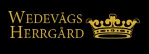 Wedevågs herrgård logo